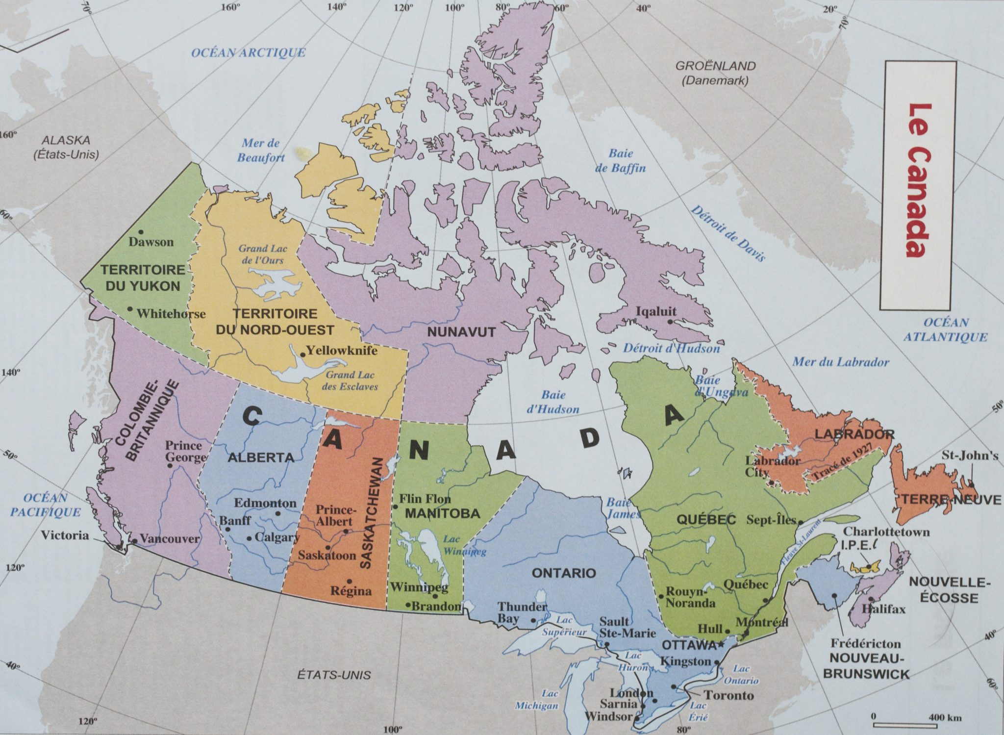 территория канады какое место занимает